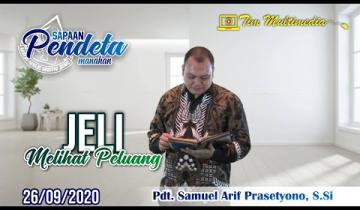 Embedded thumbnail for Sapaan Pendeta tgl. 26 September 2020