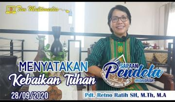 Embedded thumbnail for Sapaan Pendeta tgl. 28 September 2020